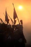 Batalha em Austerlitz 2009 Imagem de Stock Royalty Free