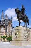 Batalha equestrian statue Royalty Free Stock Photo