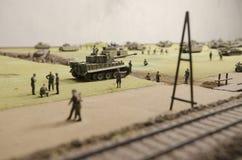 Batalha famosa do tanque de Prokhorovka Foto de Stock Royalty Free
