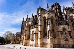 Batalha gothic monaster Santa Maria da Vitoriain Portugalia zdjęcie royalty free