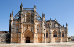 Batalha gothic monastery in Portugal. Royalty Free Stock Photos