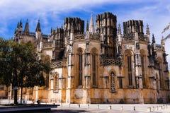 Batalha gotisches Kloster in Portugal Gotisches Kloster von Santa Maria da Vitoria de Batalha stockbilder