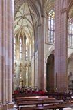 Batalha Monastery. Altar and  Apse of the Church Royalty Free Stock Photos
