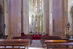 Batalha Monastery. The Altar and Apse of the Church Royalty Free Stock Photos