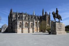Batalha Monastery - Batalha - Portugal Stock Photo