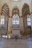 Batalha Monastery. Gothic Tombs of King Dom Joao I and Queen Dona Filipa de Lencastre Royalty Free Stock Photography