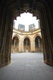 Batalha Monastery inperfect chapels. Entrance of the imperfect chapel at Batalha Monastery Stock Photography