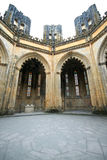 Batalha Monastery inperfect chapels. Incomplete dome of the imperfect chapel at Batalha Monastery Stock Photography