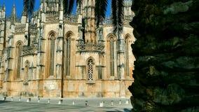 Batalha Monastery, Portugal stock video