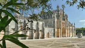 Batalha Monastery, Portugal stock video footage