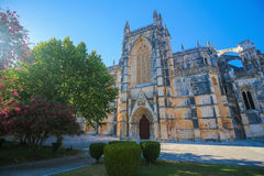 Batalha Monastery in Portugal Stock Image