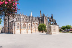 Batalha Monastery in Portugal Royalty Free Stock Photos
