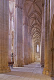 Batalha Monastery. Secondary nave and aisle Royalty Free Stock Image