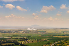 Batalha perto do al-Qunaytirah sírio da cidade Foto de Stock