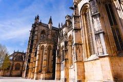 Batalha, Portogallo Monastero del monastero di Batalha aka di Santa Maria da Vitoria fotografie stock