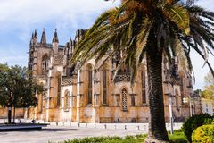 Batalha, Portogallo Stile di Manuelino e gotico aka Manueline fotografia stock