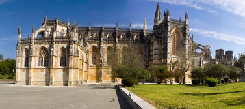 Batalha Portugal. Batalha monastery , Portugal The Monastery of the Dominicans of Batalha was built to commemorate the victory of the Portuguese over the stock photo