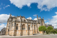 Batalha Santa Maria da Vitoria Dominican abbey, Portugal Stock Image