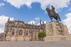 Batalha Santa Maria da Vitoria Dominican abbey, Portugal Royalty Free Stock Photo