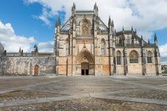 Batalha Santa Maria da Vitoria Dominican abbotskloster, Portugal Royaltyfria Bilder