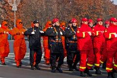 Batalion d'homme d'incendie Image libre de droits