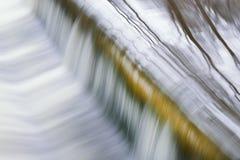 Batalistyczna zatoczki rzeki kaskada Zdjęcia Royalty Free