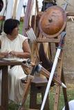 batalistyczne pola bitwy życia Pavia bronie Obrazy Royalty Free