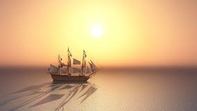 batalistyczni błękitny colours zgłębiają statek flagowy hms władyki nelsonu bogatego nieba trafalgar zwycięstwo Zdjęcie Royalty Free