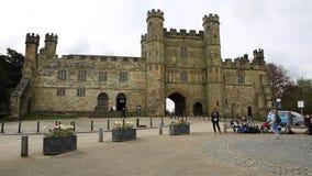 Batalistyczny opactwo, bitwa, East Sussex, UK jest popularnym przyciąganiem dla turystów i szkolnych wycieczek zbiory