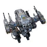 Batalistyczny robot Zdjęcia Stock