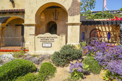 Batallón mormón en San Diego Historic Site - SAN DIEGO - CALIFORNIA - 21 de abril de 2017 Fotografía de archivo