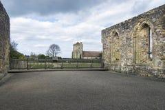 Batalla Abbey Remains, Sussex, Reino Unido Fotos de archivo libres de regalías