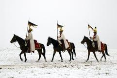 Batalla de Austerlitz Imágenes de archivo libres de regalías