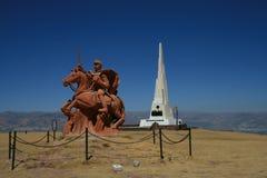 Batalla de Ayacucho Fotos de archivo libres de regalías