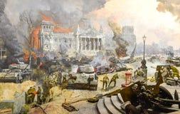 Batalla de Berlín imagen de archivo libre de regalías