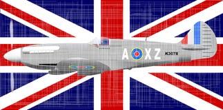 Batalla de Gran Bretaña Foto de archivo libre de regalías