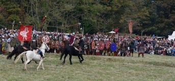 Batalla 1066 de Hastings Foto de archivo