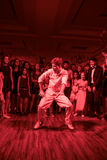 Batalla de la danza imagen de archivo