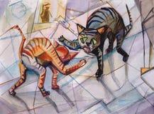 Batalla de marzo Imagen de archivo libre de regalías