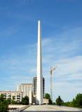 Batalla de Stalingrad del panorama del museo Fotografía de archivo