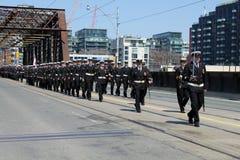Batalla del desfile de la conmemoración de York Imágenes de archivo libres de regalías