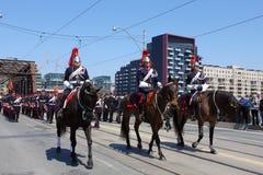 Batalla del desfile de York Imagenes de archivo