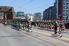 Batalla del desfile de York Imagen de archivo