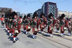 Batalla del desfile de York Fotos de archivo