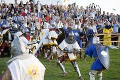 Batalla del festival de las naciones Fotos de archivo