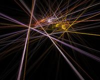 Batalla del laser Imagen de archivo