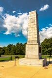 Batalla del monumento de Cowpens fotografía de archivo