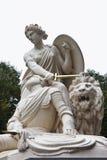 Batalla del monumento de Heiligerlee, los Países Bajos Foto de archivo