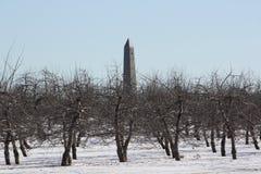 Batalla del monumento de Saratoga Fotos de archivo libres de regalías