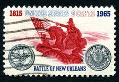 Batalla del sello de New Orleans los E.E.U.U. Fotografía de archivo